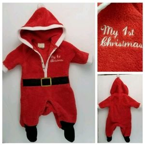 My 1st Christmas Santa Sleeper Infant 0-3 Months